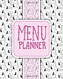 Menu Planner: Calendar & Menu Maker to Plan Your Meals & Diet: Volume 58