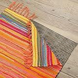 Pro Home Teppich - Gleitschutz Antirutsch Haftgitter Dunkelgrau in 3 Verschiedene Größen, Auswahl: 60 x 120 cm