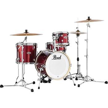 Pearl Export EXX725S LA Rock Fusion Drum Kit Smokey Chrome