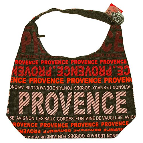 Robin Ruth - Sac City Provence 48 x 37 cm - Couleur : Marron, Rouge
