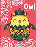 Owl coloring book: Owl coloring books for adults ( An Owl Coloring Book for Adults and Kids ) Vol.8: Volume 8