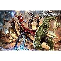The Avengers–Strike–Póster 61x 91.5cm