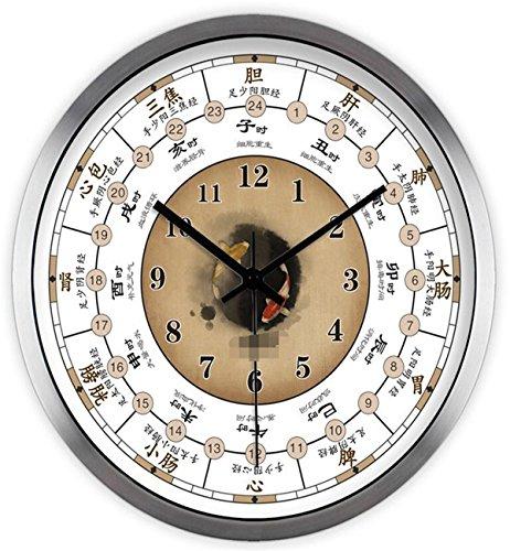 Sucastle® 12 in metallo orologio da parete effetto tridimensionale 3d sticker decorazione per casa ufficio hotel ristorante fai da te orologio ingranaggio in europeo retro fatto a mano