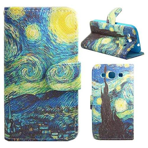 HUANGTAOLI Custodia in pelle Protettiva Portafoglio Flip Case Cover per Samsung Galaxy S3 GT-i9300/S3 Neo i9301