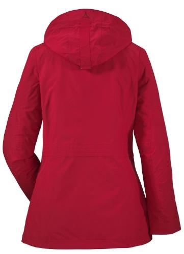 Schöffel Gilian-Veste femme double rosso  - Rosso cinese