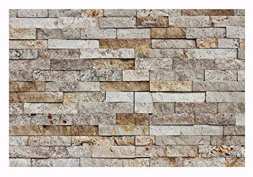 Naturstein Wand (1 Muster W-012 Wand-Verblender Travertin Natursteinwand Naturstein Fliesen Lager Verkauf Stein-Mosaik Herne NRW)