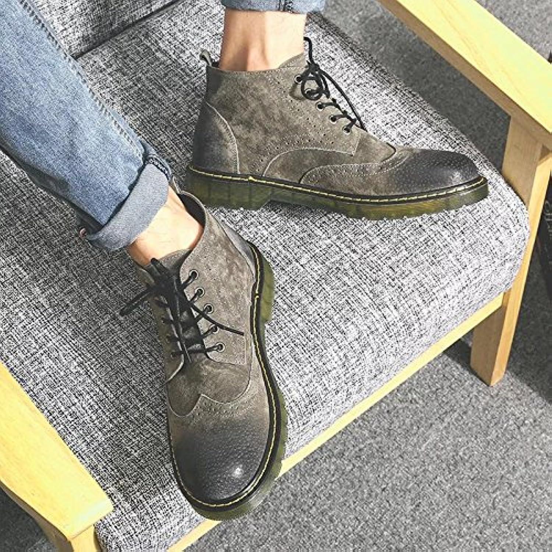 HL-PYL-Martin bottes, Bottes,41,Couleur souliers, bottes, chaussures et Bottes courtes Bottes,41,Couleur bottes, Café 9b2a91