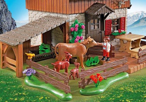 Playmobil granja casa de los alpes con varios accesorios for Casa playmobil 123