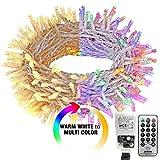 31V Safe Voltage LED-Lichterketten Speicherfunktion Timer LED-Lichterketten Weihnachtsbeleuchtung im Freien Smart String Lights-WW_Multicolor_China_50M_400LEDs_UK_Plug