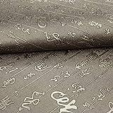 Hongma Lederstoff Chinesischer Stil Kupfer PU Leder A4