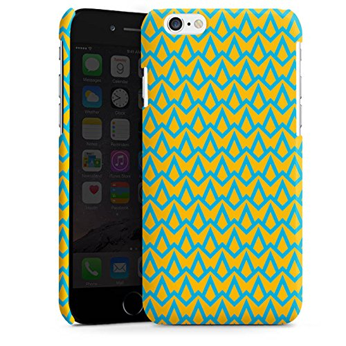 Apple iPhone 5 Housse étui coque protection Motif Motif Bleu Cas Premium brillant