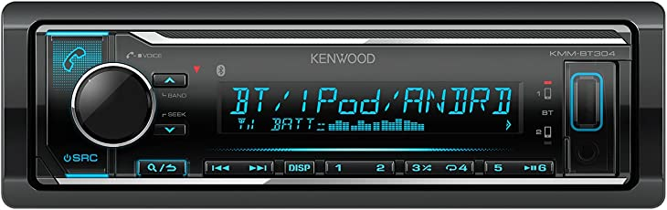 Kenwood KMM-BT304 Digital Media Receiver (Black)