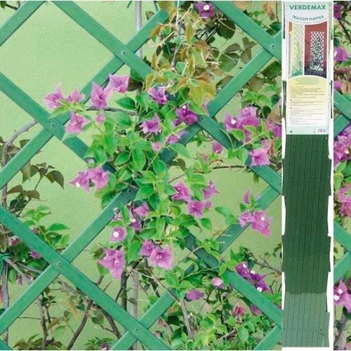 Castvivai 7552 - traliccio estensibile in pvc m 30x10 verde