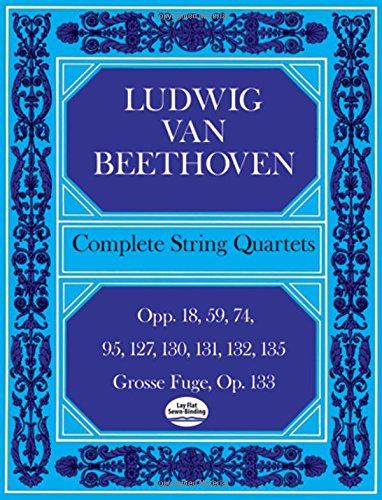 Complete String Quartets (Dover Chamber Music Scores)