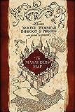 """Poster Harry Potter """"La carte du Maraudeur"""" (61cm x 91,5cm)"""