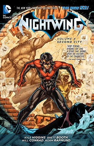 Nightwing Volume 4: Second City TP (The New 52) Cover Image