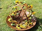 Sonnenblumengirlande Sonnenblume Blume Blättergirlande Tischdeko Girlande künstlich Fensterdeko Dekogirlande Deko 63 Blüten 180cm - 5