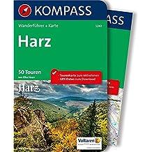Harz: Wanderführer mit Extra-Tourenkarte 1:50.000, 50 Touren, GPX-Daten zum Download (KOMPASS-Wanderführer, Band 5240)