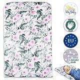 materassino fasciatoio per bebè Lavabile - Cuscino portatile, morbido per Bambine e Bambini, Fasciatoio da tavolo 50 x 70 cm grande