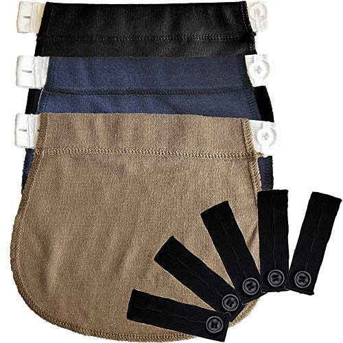 Belly Band | Pregnancy Belt, Waistband Extender Mothers Maternity Wear The Best Gift for a Pregnant Woman