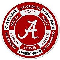 Preisvergleich für Siskiyou Sport Alabama Crimson Tide Schedule Golf Ball Marker Medaille, weiß, 3,8cm