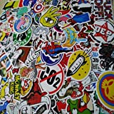 Cool Stickers for Girls Boys Kids Laptops Phones Scooters Macbook Football Walls (PACK of 100pcs)