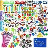 nicknack Riempitivi Pinata per Bambini, 150PCS Giocattolo di riempimento del Sacchetto del bottino per la Festa di Compleanno per Bambini, Premi per i Giochi di Giocattoli della Scuola