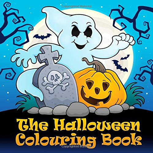 The Halloween Colouring Book: Funny halloween colouring pictures for children from 4 years
