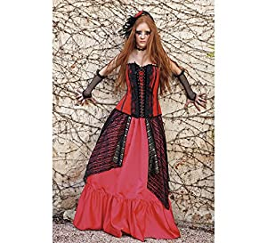 Limit Sport - Disfraz con falda y corpiño de gótica Maruxa, para adultos, talla L (EA144)