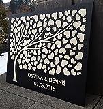 Manschin Laserdesign Personalisiertes 3D Gästebuch aus