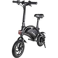 Windgoo Vélo Électrique Pliant, Jusqu'à 25km/h, Vitesse Réglable 12 Pouces Noir Bike, 350W/36V Batterie Lithium Rechargeable, Adulte Unisexe