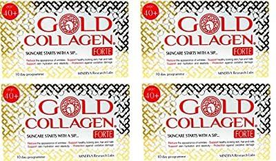 4 x Minerva Gold Collagen Forte for Age 40+ 10 Day Program from Minerva