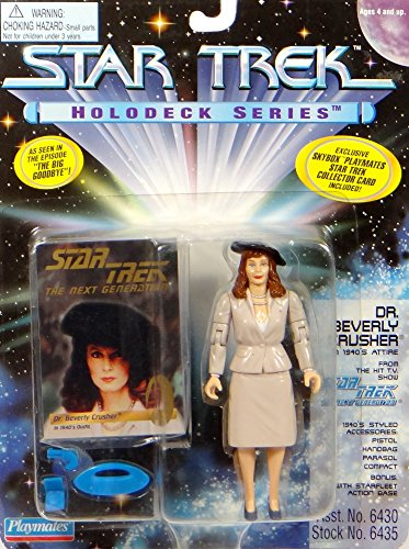 Dr. Beverly Crusher in 1940`s Attire Holodeck Series - Actionfigur - Star Trek The Next Generation von Playmates