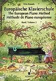 Europäische Klavierschule. Bd.2 von Emonts. Fritz (1993) Musiknoten