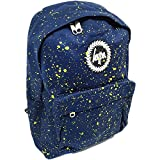 Hype Backpack Bags Rucksack | School Bag | Navy Yellow Speckle