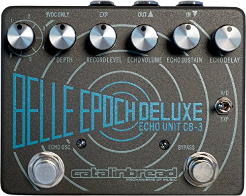Catalinbread Belle Epoch Deluxe Tape Echo · Pedal guitarra eléctrica