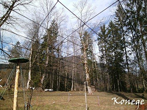 Volierennetz, Vogelschutznetz 20,0m x Breite wählbar, 10,0cm Maschenweite