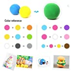 Arvana Paper Clay meshi for Craft | Return Gifts for Kids bitrhday(Multicolour) (Pack of 24)