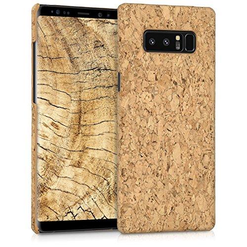 kwmobile Samsung Galaxy Note 8 DUOS Hülle - Handyhülle für Samsung Galaxy Note 8 DUOS - Handy Case Kork Cover Schutzhülle