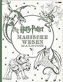 Harry Potter: Magische Wesen Malbuch -