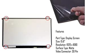 NEW 11.6 LED LCD SCREEN REPLACEMNET FOR ASUS VIVOBOOK E203MA-TBCL232A LAPTOP GLOSSY DISPLAY PANEL Sold By Wikiparts