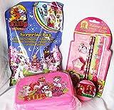 110025 Filly Geschenk Set für Mädchen mit Filly Brotdose, Überraschungskugel, Überraschungstüte, Schreib Set als Geschenk verpackt