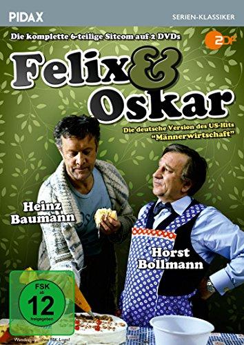 Felix und Oskar / Die komplette Serie mit Horst Bollmann und Heinz Baumann (Pidax Serien-Klassiker) [2 DVDs]