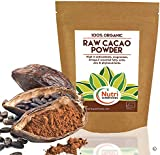 RAW ORGANIC CACAO POWDER, Pure Nutritious Vegan Dark Chocolate Ingredient, Premium Quality Magnesium Rich Superfood, Sugar Free, Delicious and Ideal for Baking, Power Smoothies & Protein Bars - 400g