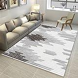 CHAI Wohnzimmer Dekoration Teppich Matte Nordic Einfachen Stil Rechteckigen Teppich Schlafzimmer Rutschfeste Teppich 3D Druck Kinderteppich Teppich Teppiche (Größe : 180x250cm)