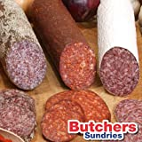 15 Pack Fibrous Casing for Salami,Smoked Sausage,Chorizo Pepperoni, Dried Cured