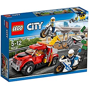 "LEGO 60137 ""Tow Truck Trouble"" Building Toy"