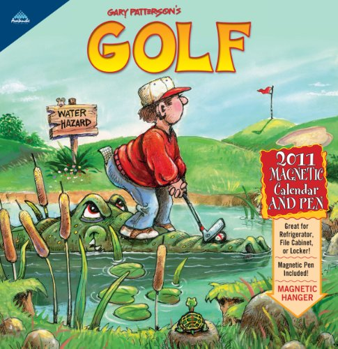 2011 Gary Patterson'S Golf - Magnetic Mini Calendar