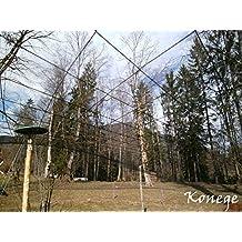 Volierennetz, Vogelschutznetz 12,0m x Breite wählbar, 10,0cm Maschenweite
