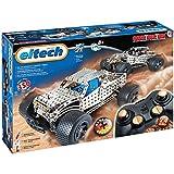 EITECH - 2042538 - Construcción Game - C27 - Kit metálicos - Pick up / Set Hot Rod control remoto 2.4 GHz - 350 Piezas